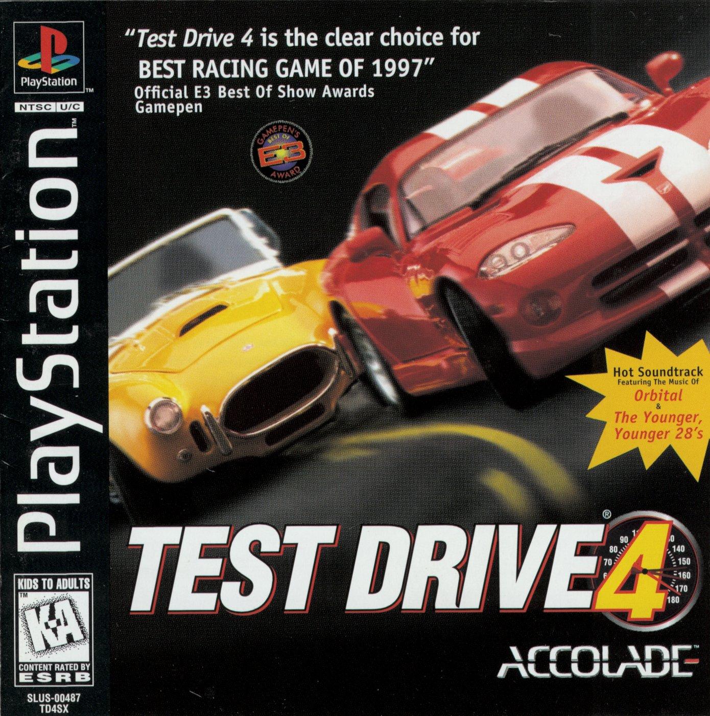 Test Drive 4 [SLUS-00487] ROM - Playstation (PS1) | Emulator Games