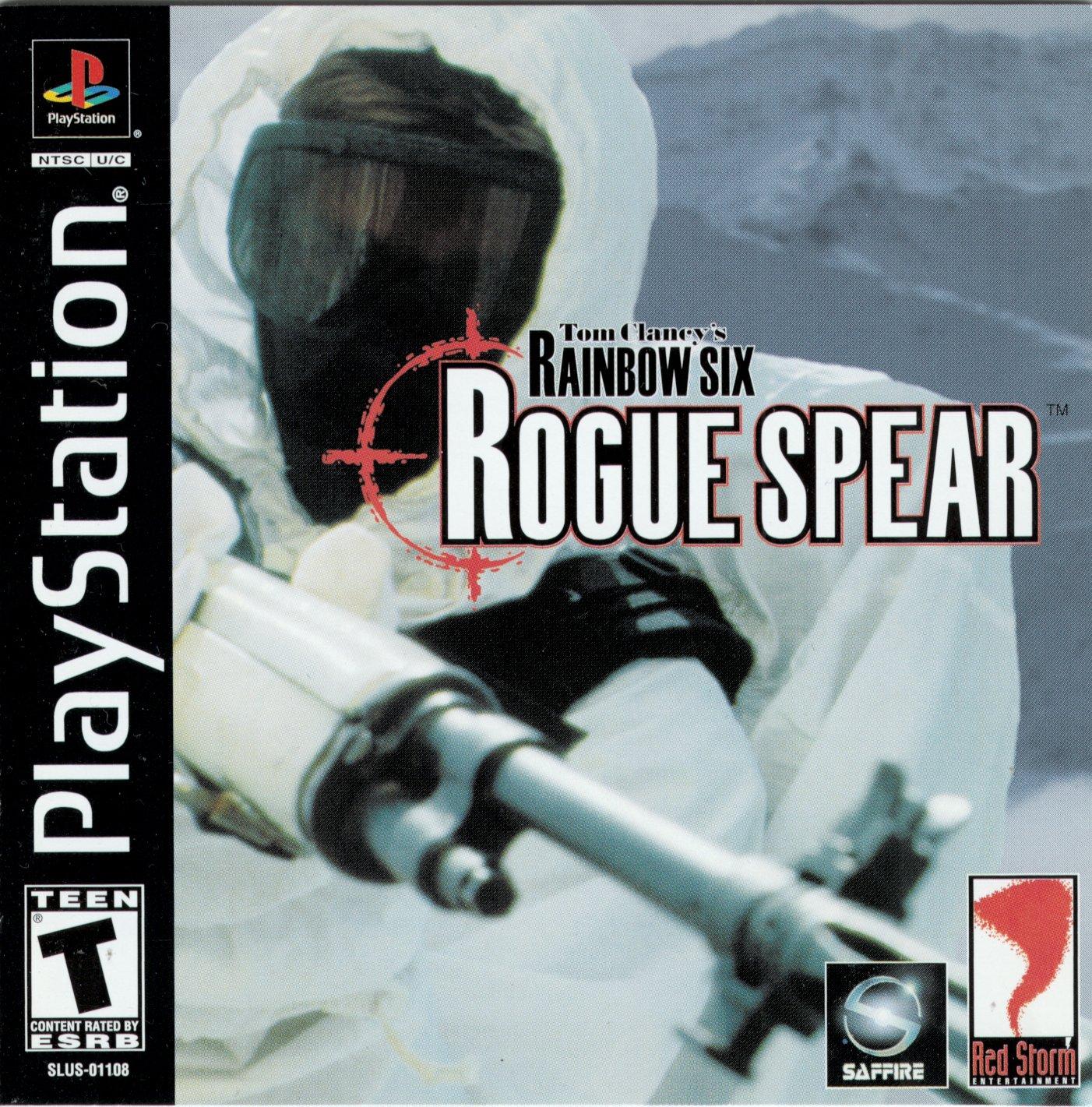 Tom Clancy S Rainbow Six Rogue Spear [SLUS-01108 Bin Cue
