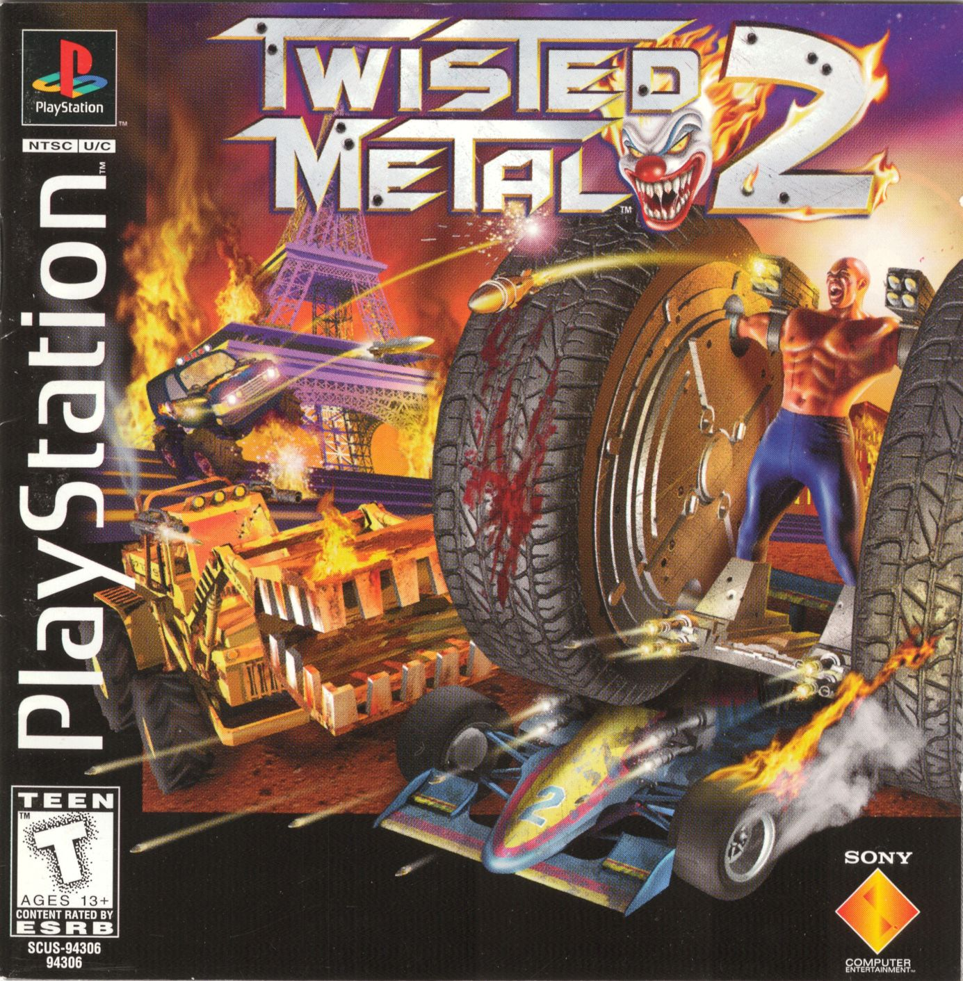 Twisted Metal 2 [SCUS-94306] Bin