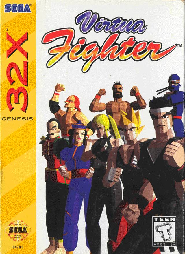 Virtua Fighter ROM - Sega 32X (32X) | Emulator Games