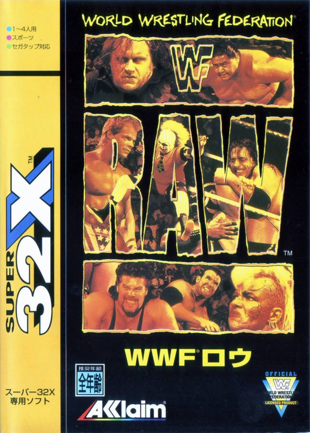 WWF - RAW ROM - Sega 32X (32X) | Emulator Games