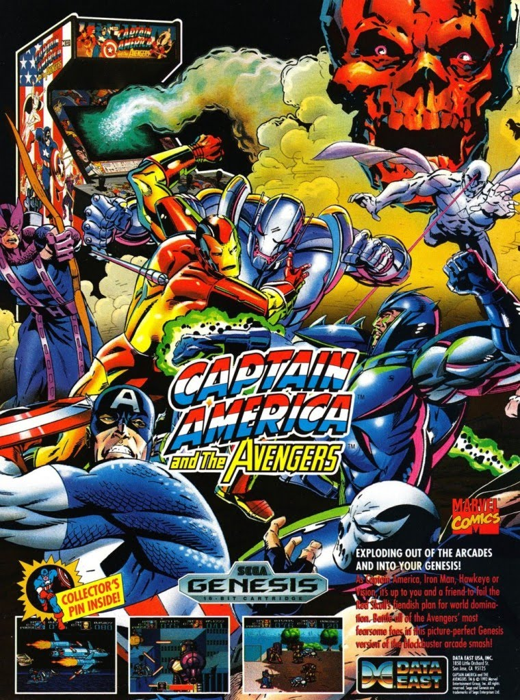 Captain America And The Avengers (Beta)