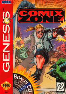 Comix Zone (Sega Smash Pack)