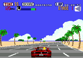 OutRun (USA, Europe) (Sega Smash Pack)