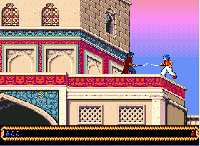 Prince Of Persia 2 - The Shadow And The Flame (Europe) (Proto)