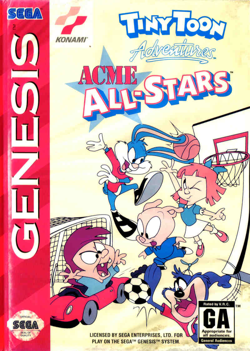 Tiny Toon Adventures - Acme All-Stars (USA, Korea)