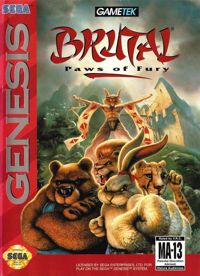 Brutal Unleashed 32X (4)