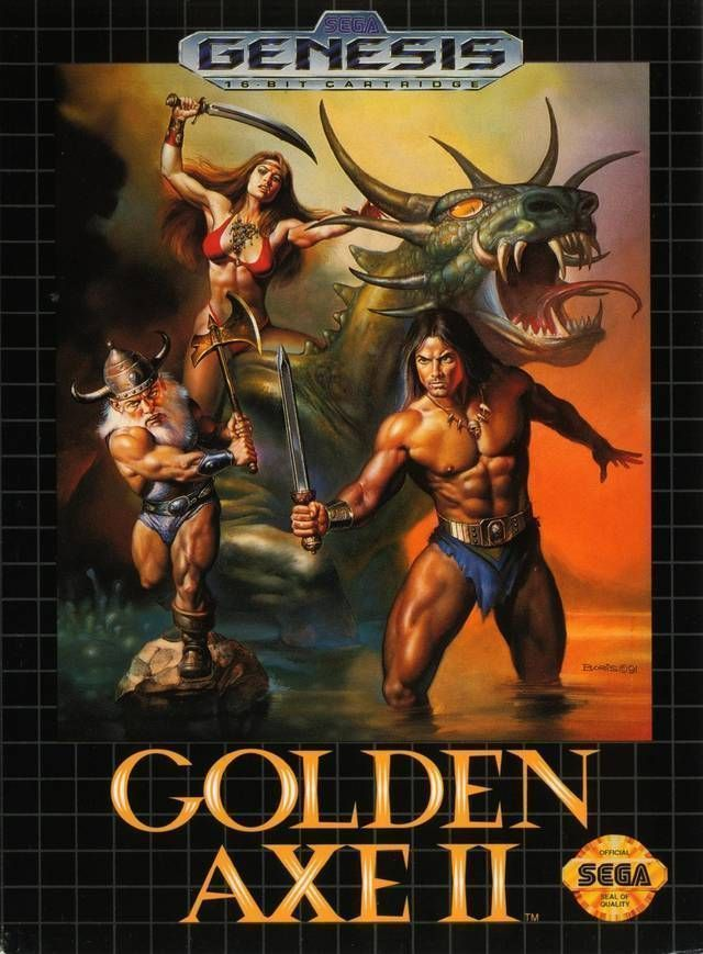Golden Axe II (JUE)