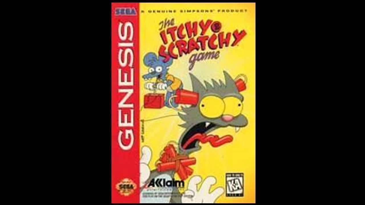 Itchy And Scratchy Game, The (JEU)
