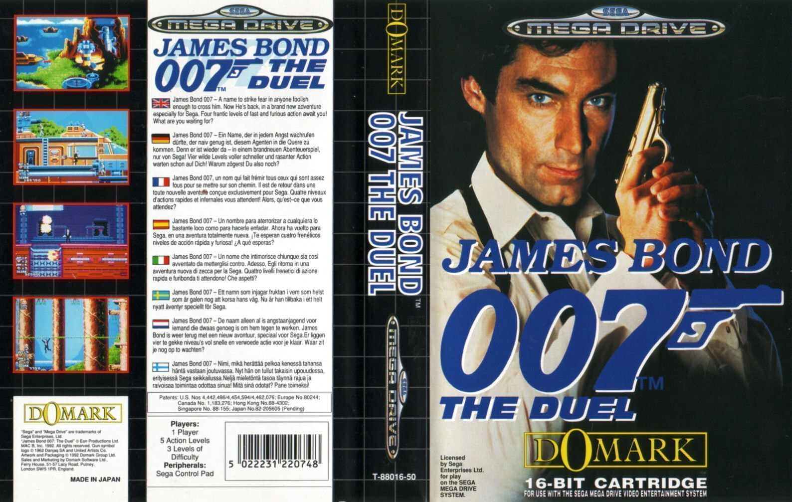 James Bond - The Duel (UEJ) (Tengen)