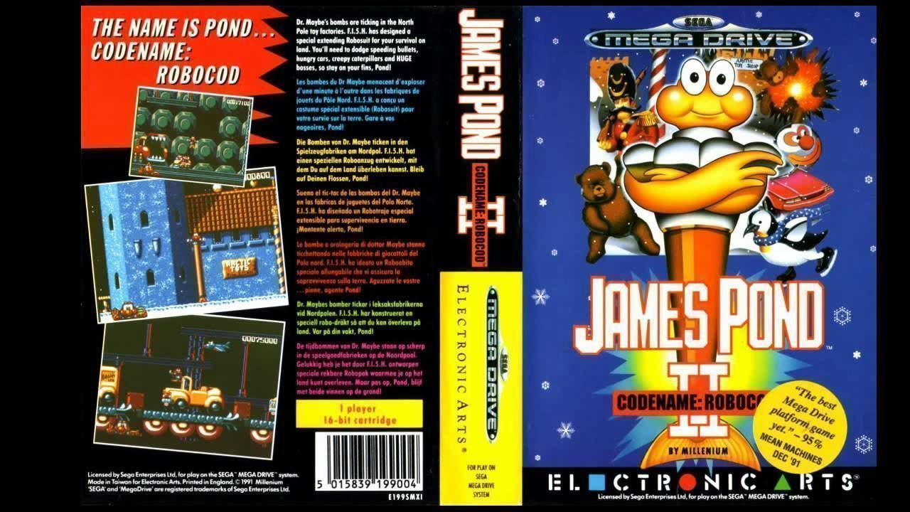 James Pond 2 - Codename RoboCod