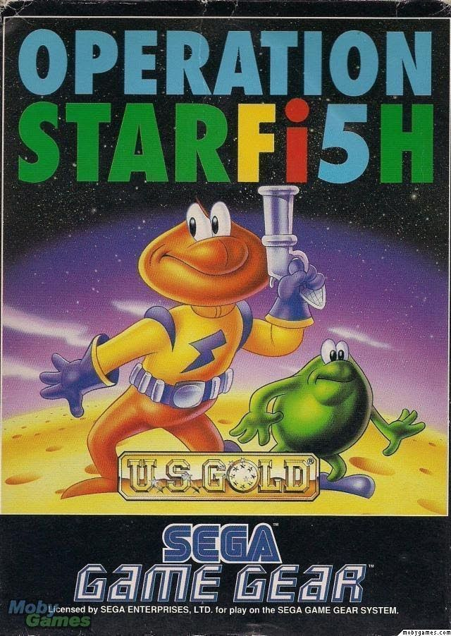 James Pond 3 - Operation Starfish (UEJ)