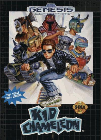 Kid Chameleon (JUE)