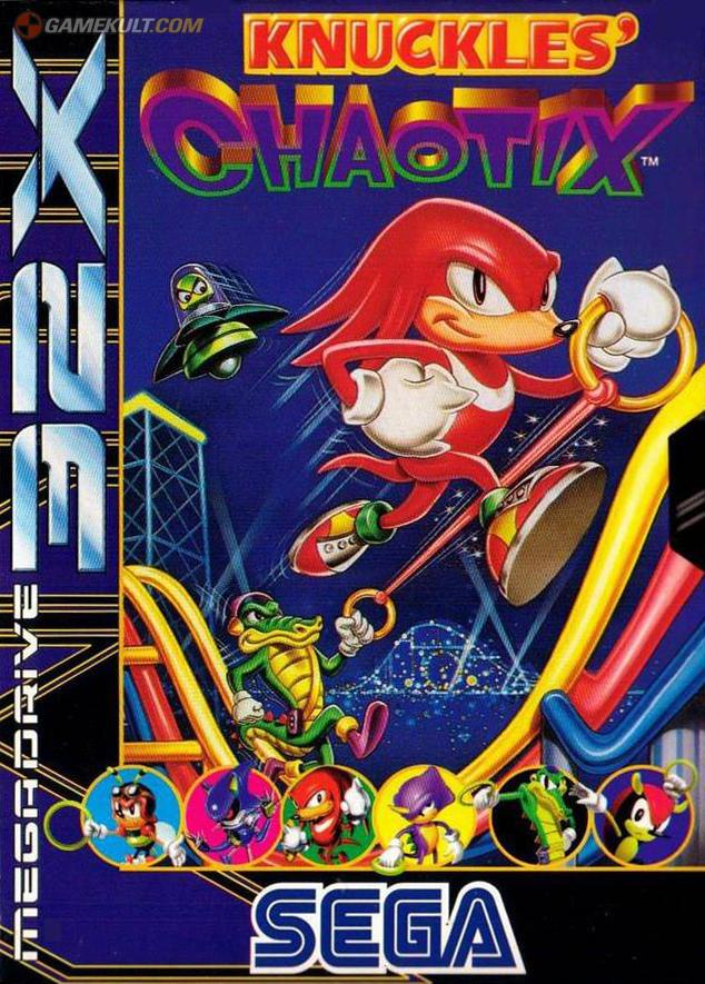 Knuckles Chaotix 32X (A)