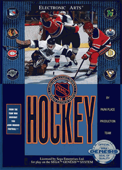 Nhl Hockey 91 Rom Sega Genesis Genesis Emulator Games