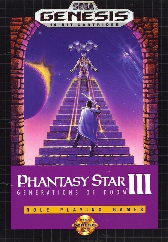 Phantasy Star III - Generations Of Doom