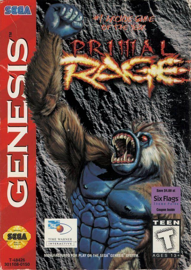 Primal Rage 32X