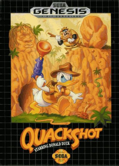 Quack Shot Starring Donald Duck (JUE) (REV 01)