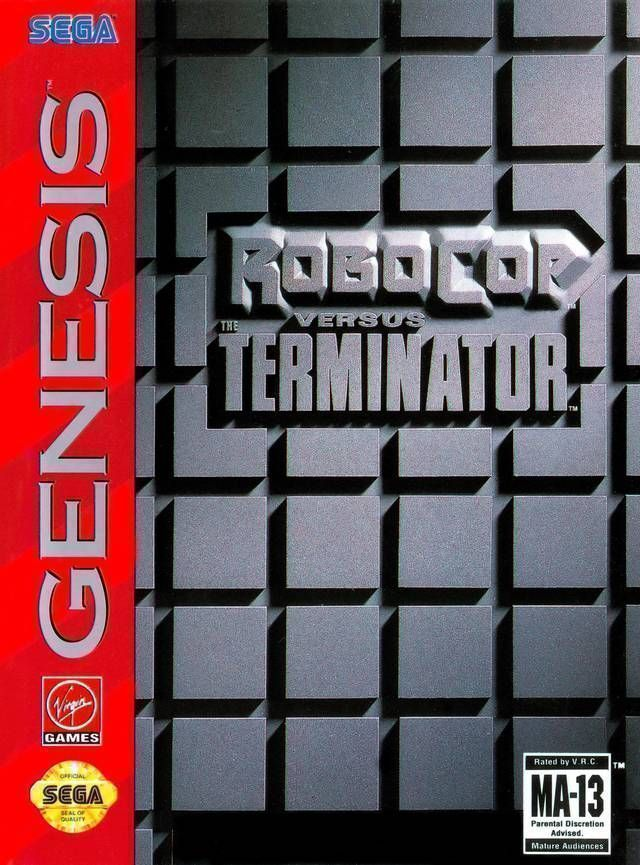 Robocop Vs The Terminator (REV 670)