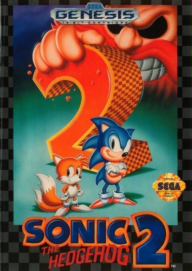Genesis / 32x / scd sonic the hedgehog 2 sonic the hedgehog.
