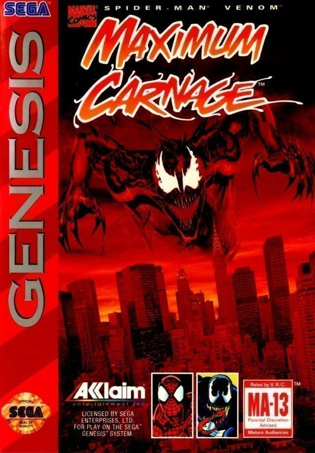 Spider-Man And Venom - Maximum Carnage (JUE)