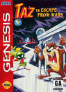 escape from mars starring taz rom