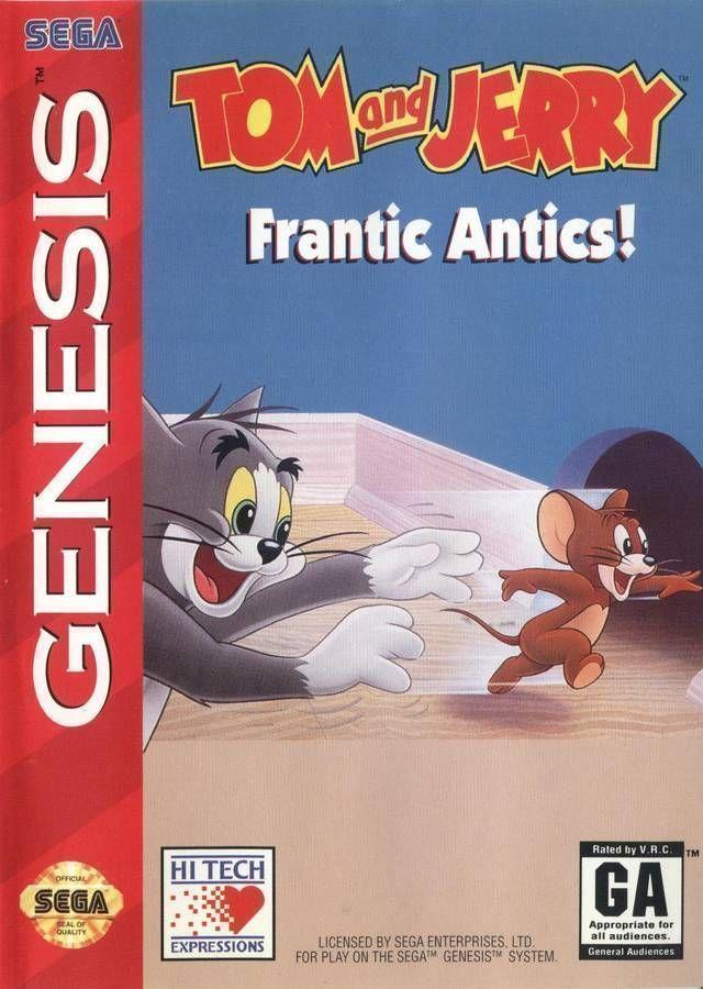 Tom And Jerry - Frantic Antics (1994)