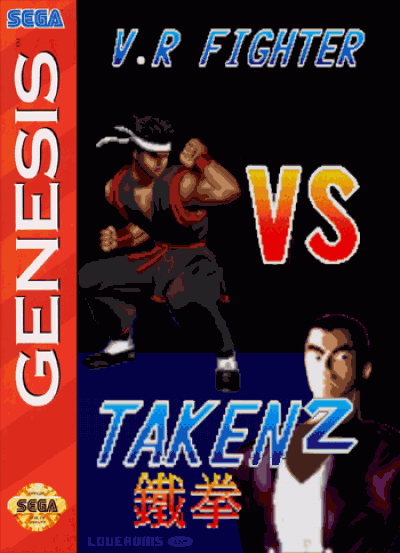 V.R Fighter Vs Taken2 (Unl)