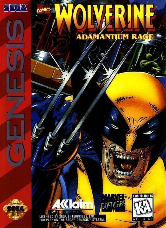 Wolverine Adamantium Rage (JUE)