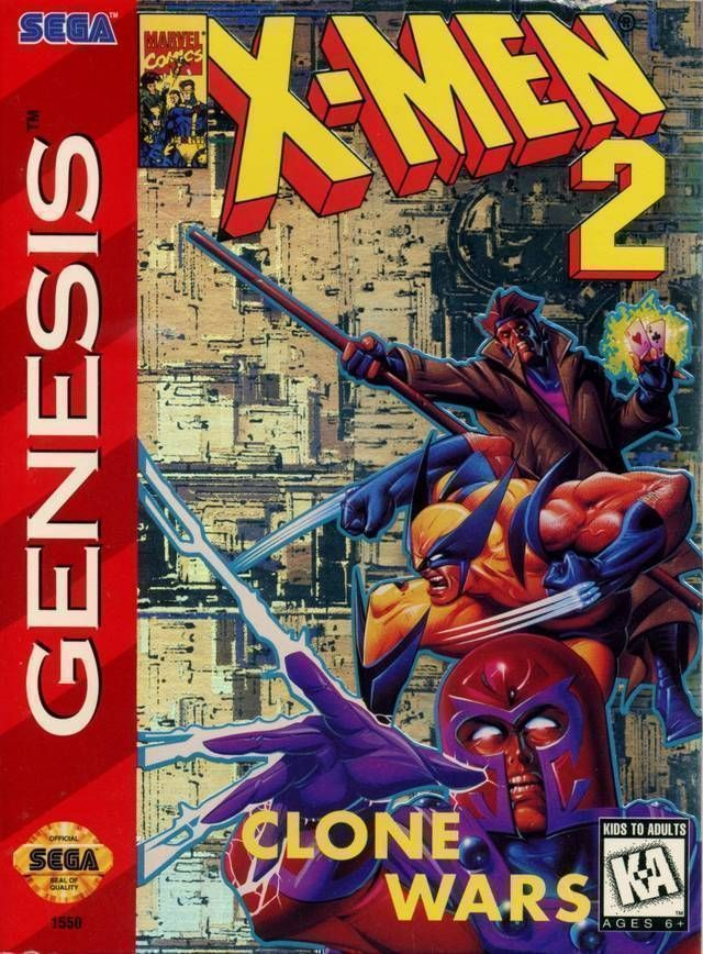 X-Men 2 - Clone Wars (JEU)