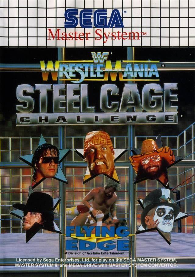 WWF Wrestlemania Steel Cage Challenge ROM - Sega Master