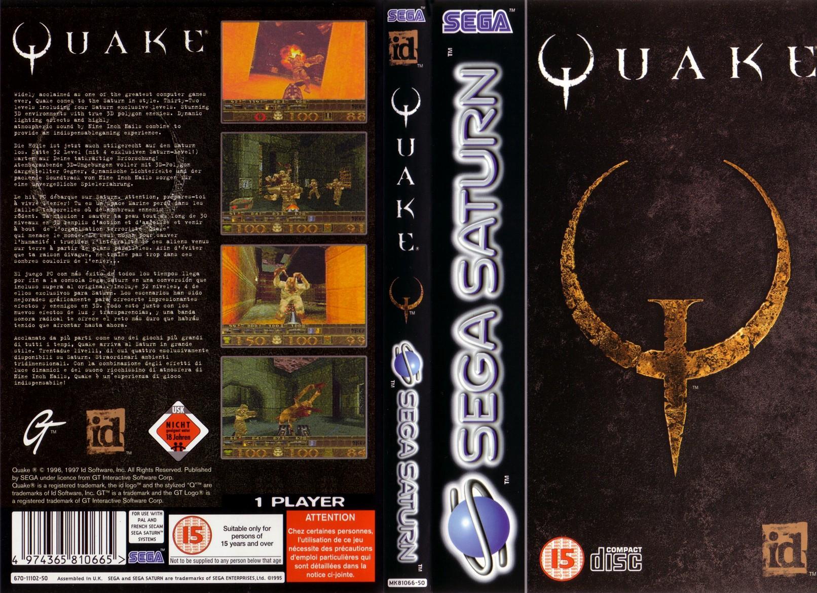 Quake ROM - Sega Saturn (Saturn) | Emulator Games