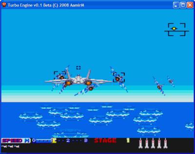 Turbo Engine SuperGrafx Emulator for Windows - PC Engine