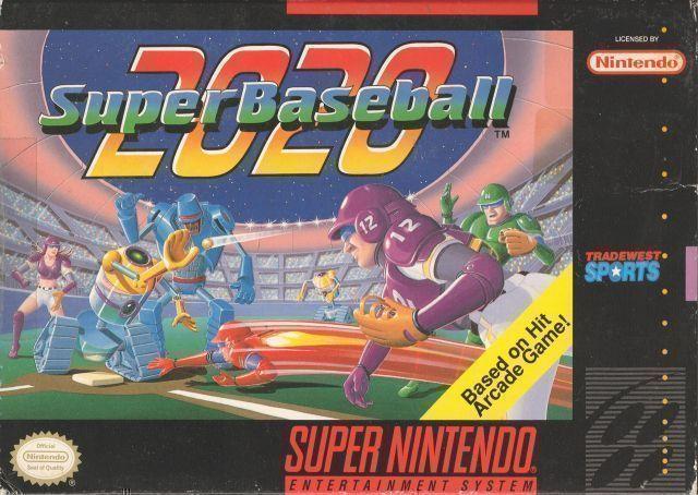 2020 Super Baseball ROM - Super Nintendo (SNES) | Emulator Games