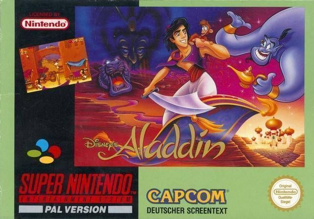 aladdin rom super nintendo snes emulator games. Black Bedroom Furniture Sets. Home Design Ideas