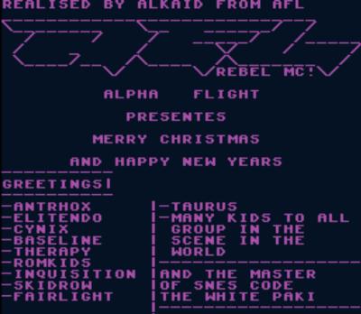 Alkaid Alpha Flight - Merry Christmas (PD)