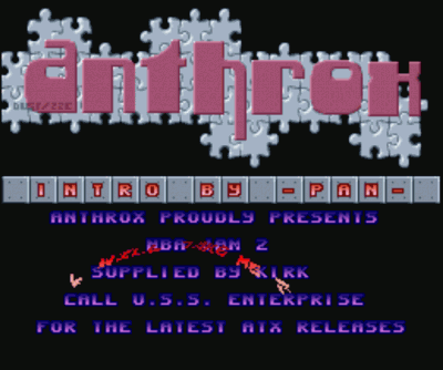 Anthrox - Slither Scroller Intro (PD)