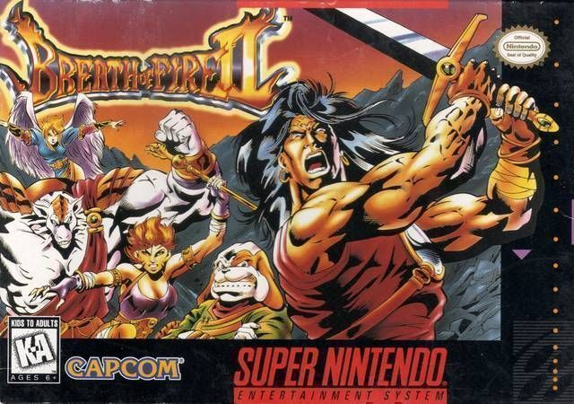 Breath Of Fire II ROM - Super Nintendo (SNES) | Emulator Games