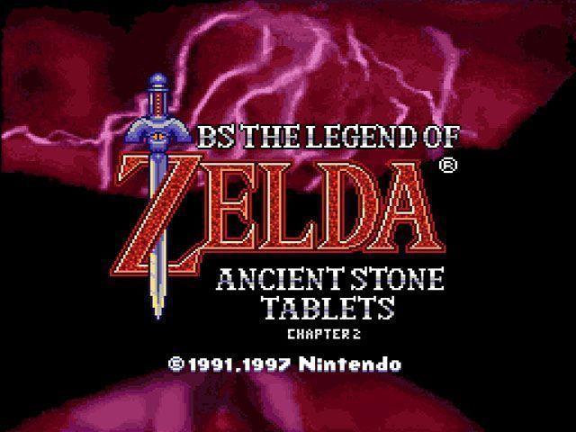 BS Legend Of Zelda 2 - Kodai No Sekiban