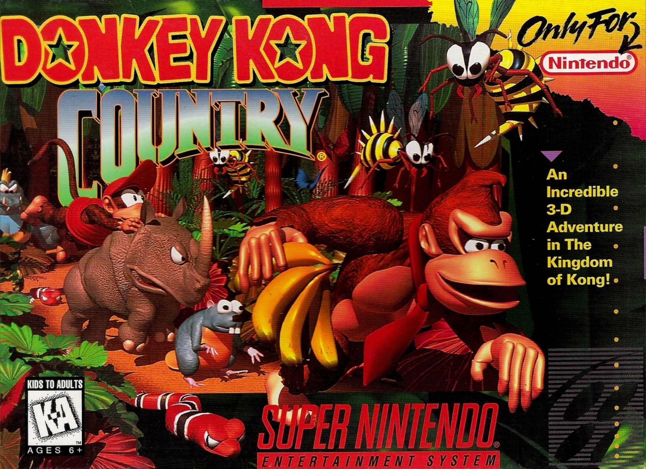 donkey kong country v1 2 rom super nintendo snes emulator games