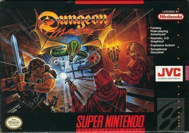 snes dungeon master