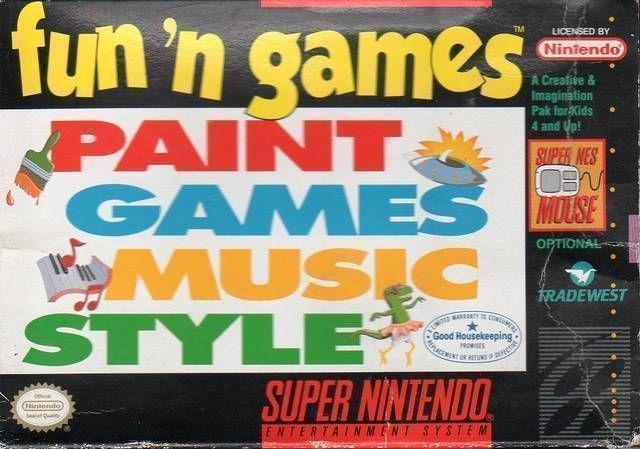 fun n games rom super nintendo snes emulator games