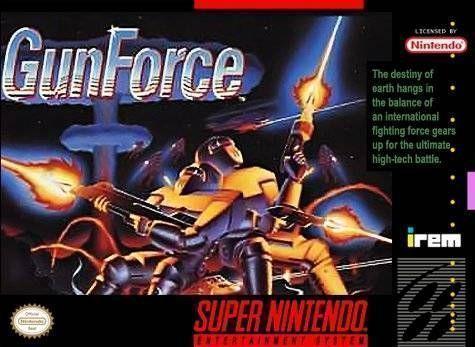 Gunforce - Battle Fire Engulfed Terror Island