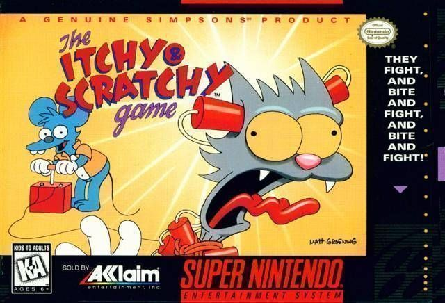 Itchy & Scratchy Game, The