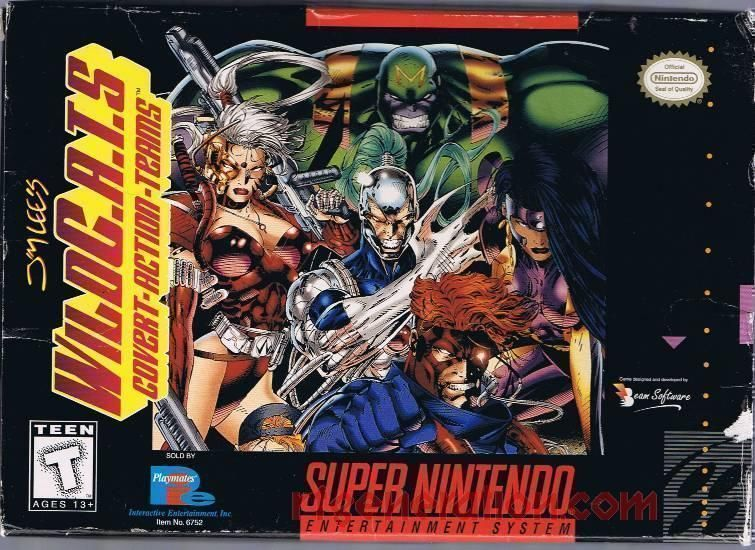 Jim Lee's WildC A T S ROM - Super Nintendo (SNES) | Emulator Games