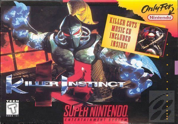 Killer Instinct ROM - Super Nintendo (SNES) | Emulator Games