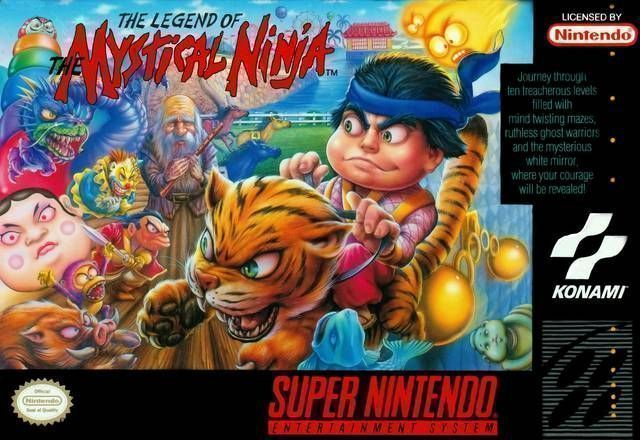 Legend Of The Mystical Ninja, The [h1]