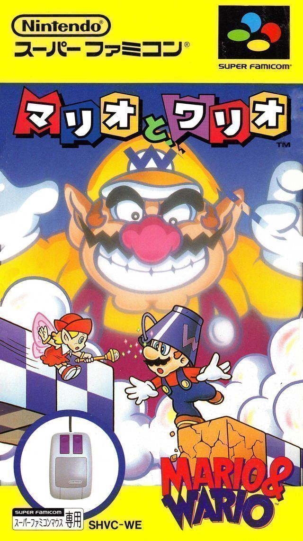 mario and wario rom super nintendo snes emulator games