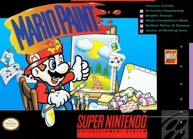Mario Paint (JU) [h1] (Joystick)