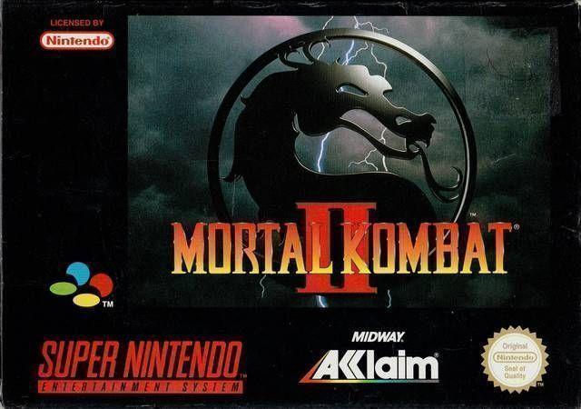 Mortal Kombat II (Anthrox Beta Hack)